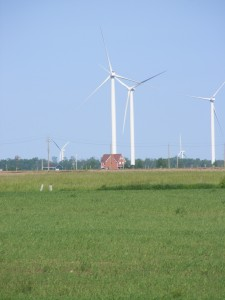 Enbridge wind farm Kincardine Ontario