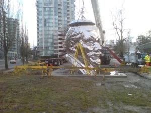 Stalin head Richmond BC