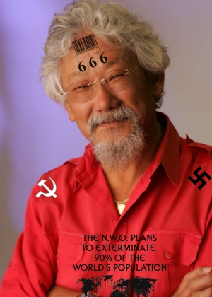David Suzuki worried about Santa Clause