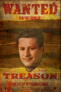 elect stephen harper prime minister stephen harper traitor treason