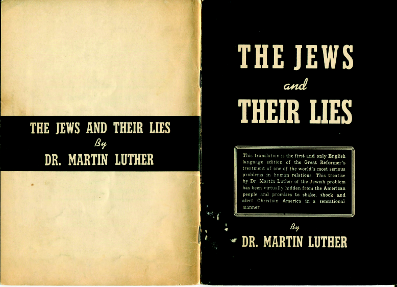 martin luther and the jews essay