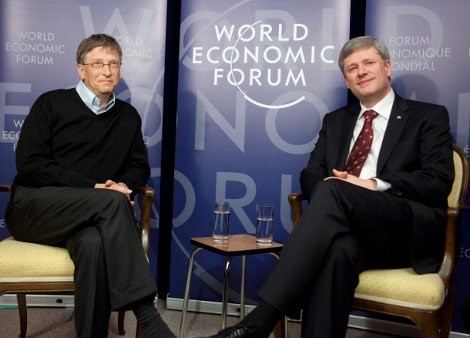 COVID-19 Bill Gates, United Nations and World Economic Forum